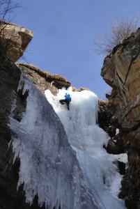 Monday Money Cogne Ice climbing