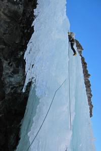 Stella Artice Ice Climbing
