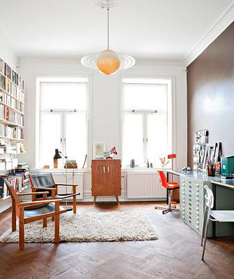 Modern and eclectic Scandinavian homes