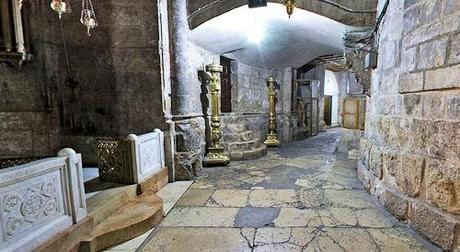 360 Degree Panoramic View Of Holy Sepulchre Church In Jerusalem
