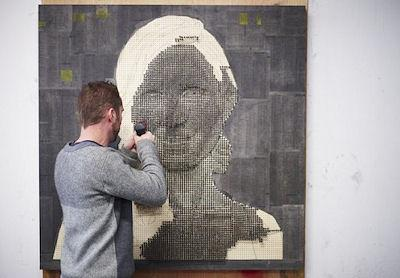 Andrew Myers' Screw Portraits
