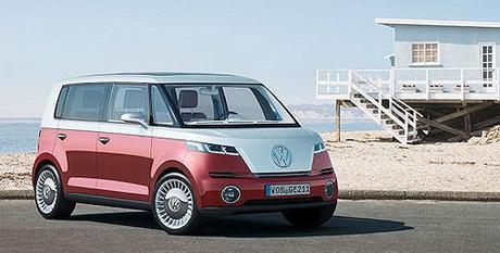 Volkswagen Unveils New Version Of Microbus