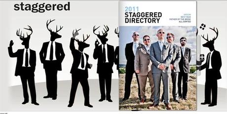 Staggered men's wedding directory 2011