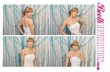 Photo booth hire for UK weddings: Booth Revolution