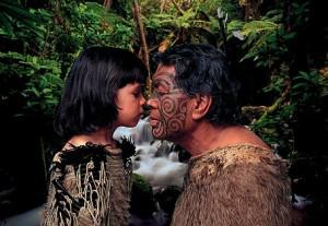 maori and girl