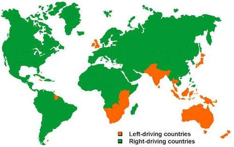 Why Some Countries Drive On The Right And Others On The Left?