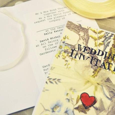 Homemade Invitations and RSVPs
