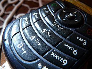 Cellphone Keyboard