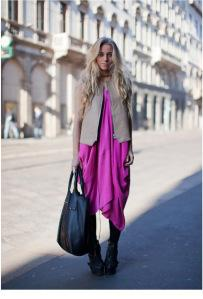 Stockholm-street-style-pink-dress