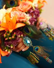 Peacock Feathers; Wedding Inspiration