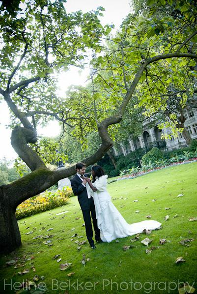 Luca and Denise - bride and groom