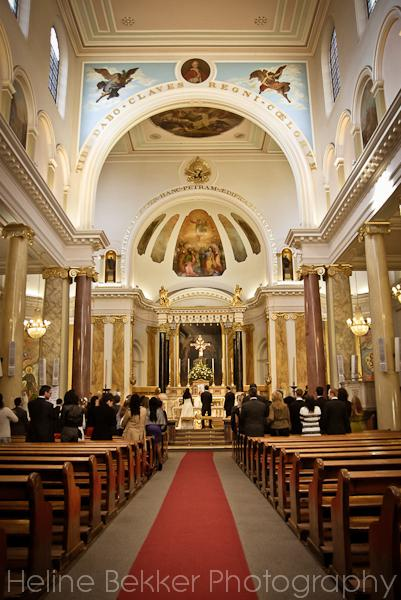 A beautiful wedding venue - St Peter's Italian Church