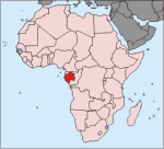 Gabon, Location
