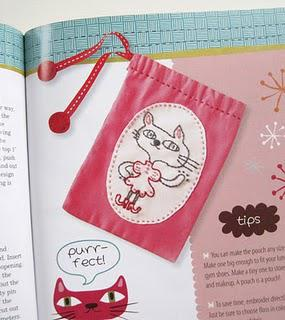 Book Review: Embroidery for Little Miss Crafty