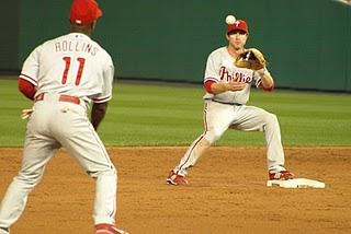 Catching tip for middle infielders