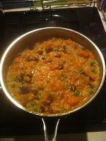 Chorizo and Squash Risotto