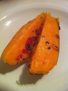 Sweet Potato with Chilli and Thyme