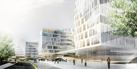 Swedbank Selects 3XN for it Spiffy New Headquarters