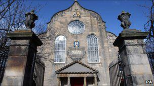 the Canongate Kirk in Edinburgh
