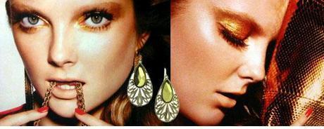 green jewelry boho earrings