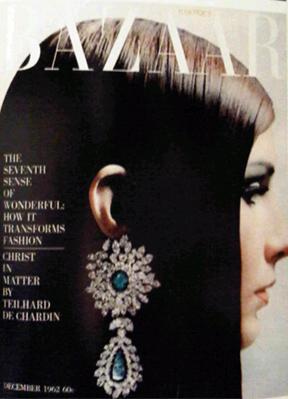 harper's bazaar december 1962 cover