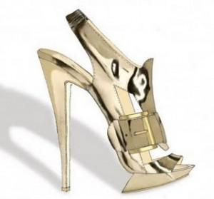 This Nicolas Kirkwood sandal has such a sci-fi feel. Ive posted...
