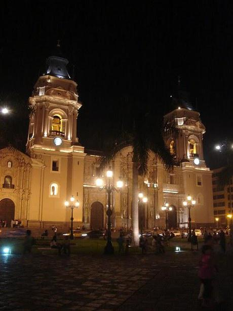 Lima - La Catedral on Plaza de Armas