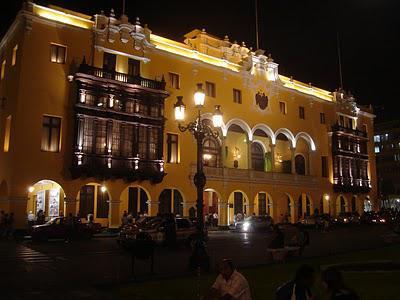 Lima, Peru - a dark town