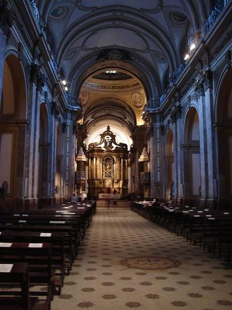 Catedral Metropolitana in Buenos Aires, Argentina