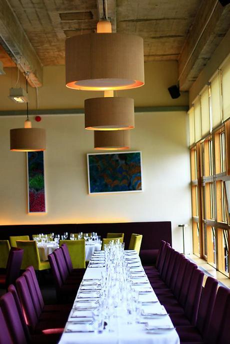 Top table, Bordeaux Quay