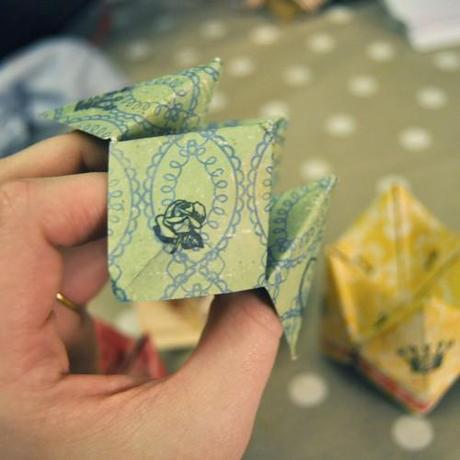 DIY Origami Fortune Tellers