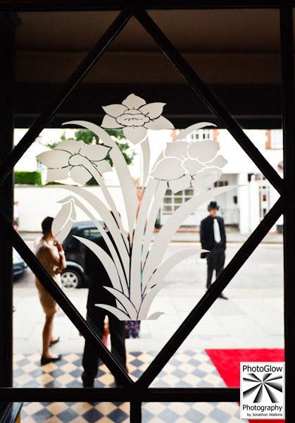 Setting the scene... the beautiful art deco detailing inside The Daffodil