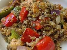 Cajun Chicken Quinoa Salad