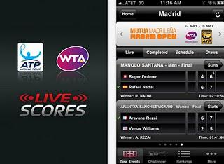 Follow ALL The Action With The ATP/WTA Live App