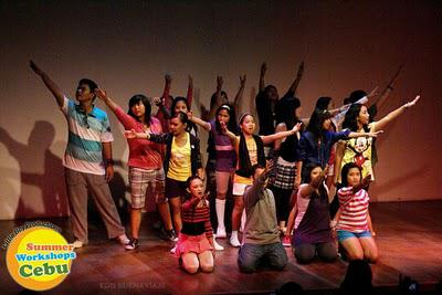 Summer theater workshops in Cebu