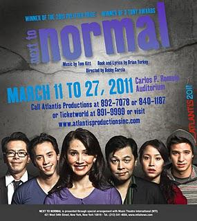 Atlantis Productions' Next to Normal--the presscon
