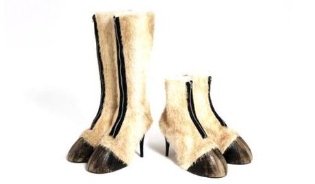 today:    'Hot' hoof boots cost £1,300 a pair  Centaurs, now in...