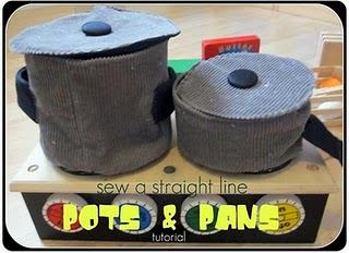 Play Eats: Sew Some Pots and Pans!