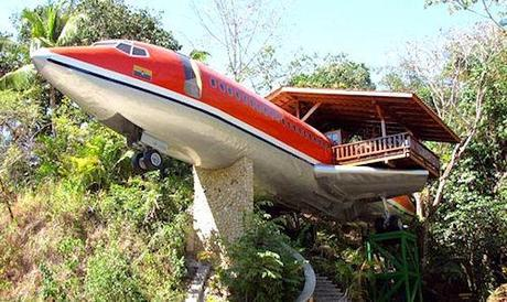 Boeing 727 Converted Into A Home