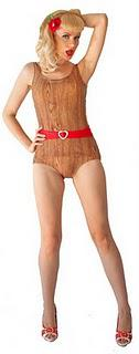 Time to get knotty .... A Tiki Lover's Swimsuit