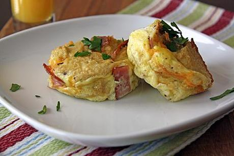 babblefamilykitchen:  Say good morning with these BAKED OMELETS