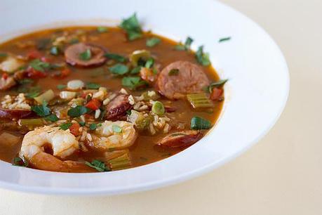 Shrimp Sausage Jambalaya