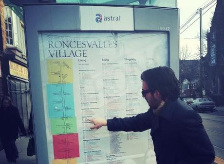 Promoting Local Business One Bus Shelter at a Time.