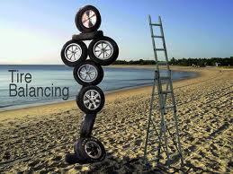 YogaParent:  Living/Parenting on a Balanced Set of Tires is Enjoyable