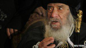 Pope Shenouda of Egypt