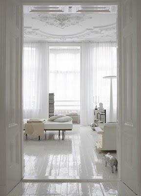 Simply stunning: Gorgeous white interiors