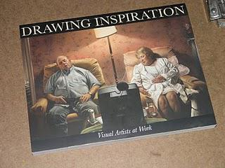 """Drawing Inspiration"" book is out and I'm in it!"