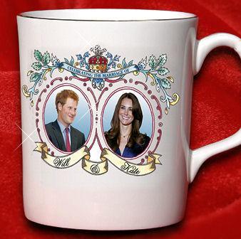 Will And Kate Mug Fail