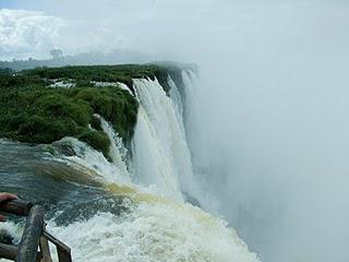 Iguazu Falls - So much water...