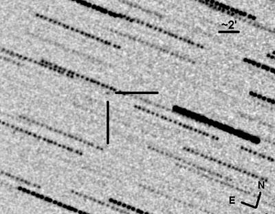 Tiny Asteroid Zips Close By Earth